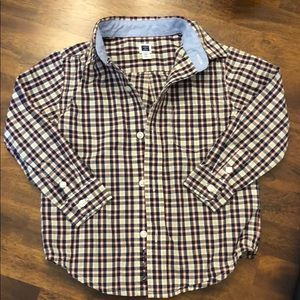 EUC Janie & Jack 2T Toddler Boy Button Down Shirt